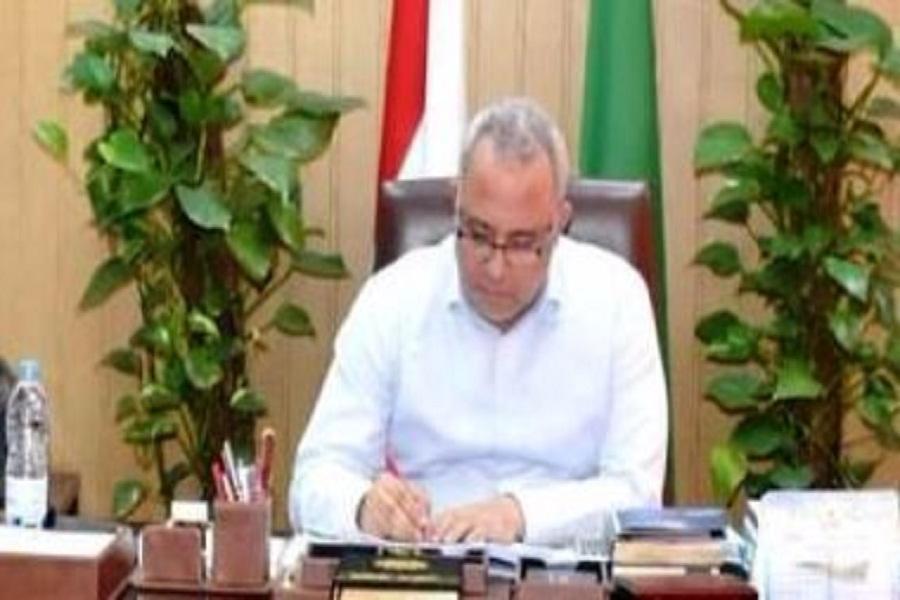محافظ الشرقية يشيد بدور رئيس الهيئة القومية لمياه الشرب والصرف الصحى