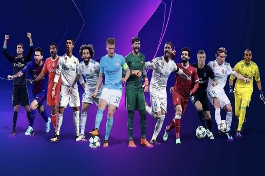 محمد صلاح ينافس رونالدو وميسي على جائزة أفضل مهاجم في دوري أبطال أوروبا