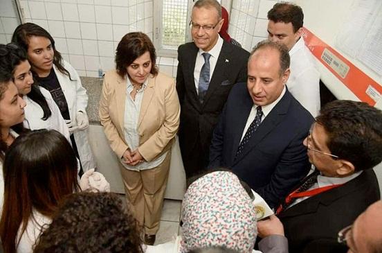 رئيس جامعة الإسكندرية يبحث مع نائبة وزير الزراعة التعاون في مجال التدريب