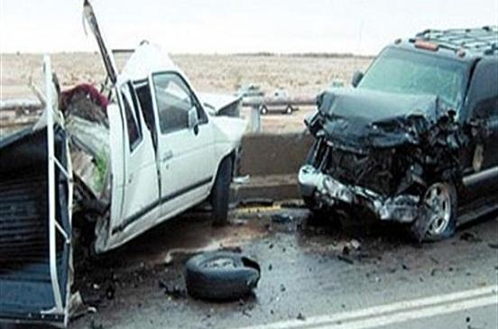 مصرع وإصابة خمسة أشخاص فى حادث تصادم بالوادي الجديد