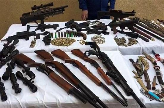 ضبط 47 قطعة سلاح في حملة أمنية على مستوى الجمهورية