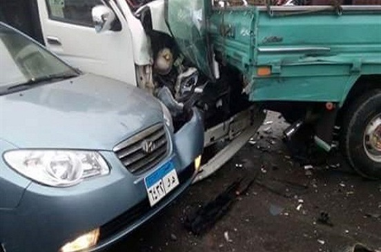 مصرع 8 أشخاص وإصابة 13 آخرين في حادث تصادم بطريق القصير- مرسى علم