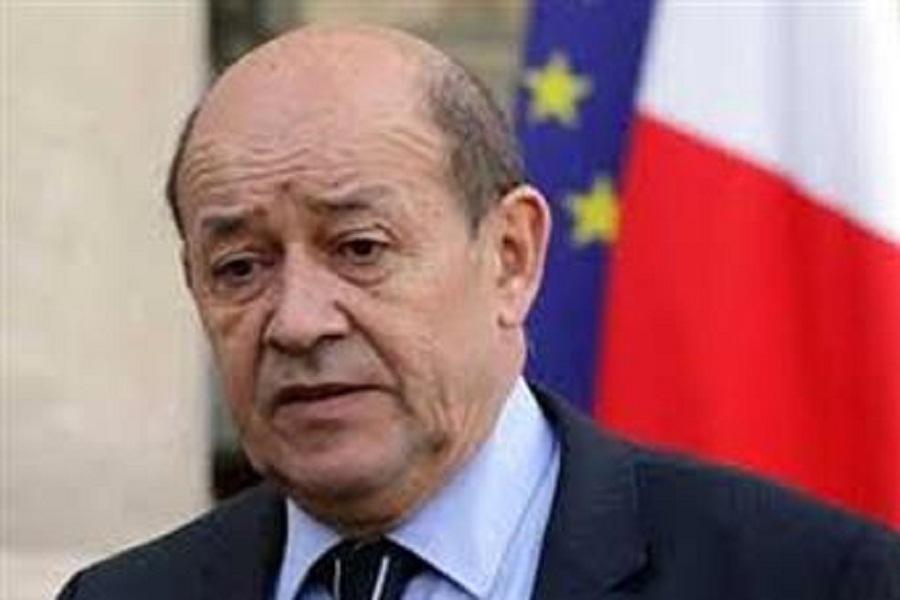 وزير خارجية فرنسا: لا يمكن حل الأزمة السورية إلا بالطرق السلمية