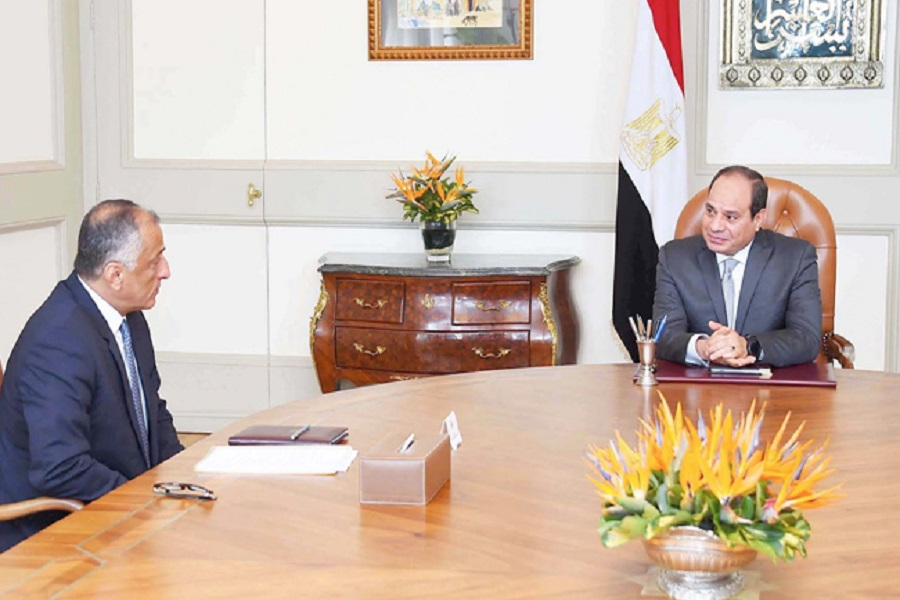الرئيس السيسي يجتمع مع محافظ البنك المركزي لاستعراض أنشطة القطاع المصرفي
