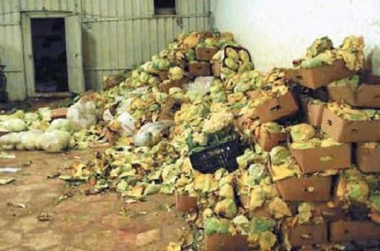 الصحة: ضبط وإعدام 347 طن أغذية فاسدة بمحافظات الجمهورية