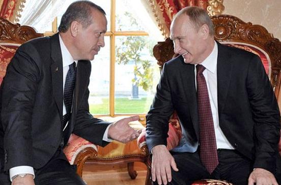 لقاء بين بوتين وأردوغان فى سوتشى لبحث الملف السوري