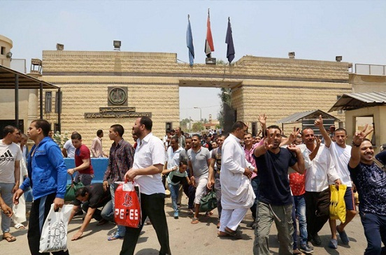 الإفراج عن 576 من نزلاء السجون بموجب عفو رئاسي