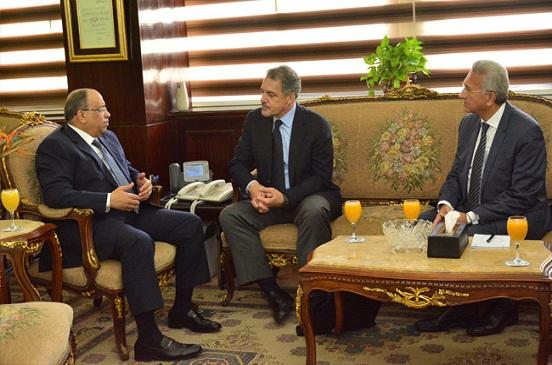 وزير التنمية المحلية يلتقي كبير مستشاري برنامج الأمم المتحدة الإنمائي