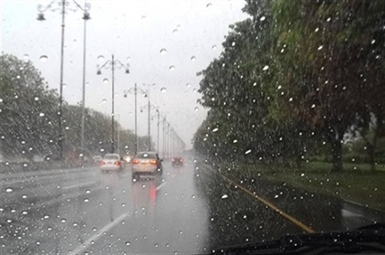 أمطار خفيفة على بعض مناطق شمال أسوان