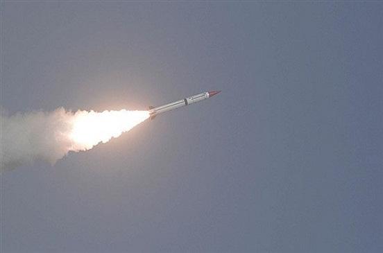 سقوط صاروخ قرب المنطقة الخضراء في العاصمة العراقية بغداد