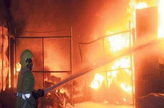 مصرع مهندس وإصابة 3 عمال في انفجار خزان بشركة بترول بمسطرد