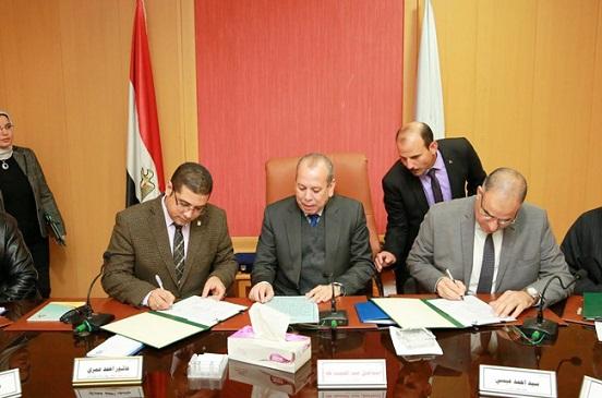 3 بروتوكولات تعاون مع هيئة تعليم الكبار لمحو الأمية بكفر الشيخ