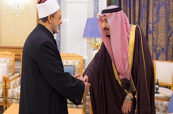 خادم الحرمين: أقدر جهود الأزهر فى نشر الفكر الوسطي وسأزور مصر مرة أخرى