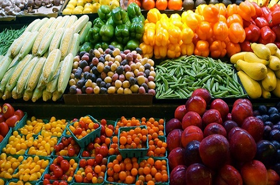 تباين أسعار الخضراوات والفاكهة اليوم
