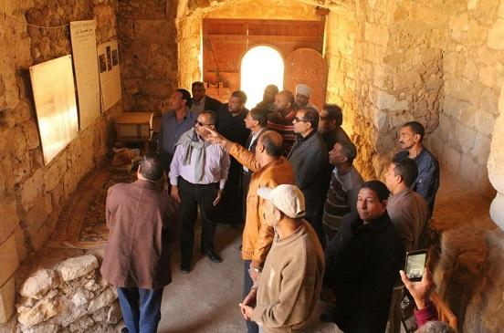 رئيس قطاع الآثار الإسلامية يتفقد آثار مدينة القصير بالبحر الأحمر   صور