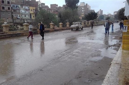 أمطار خفيفة ومتوسطة على مناطق شمال سيناء
