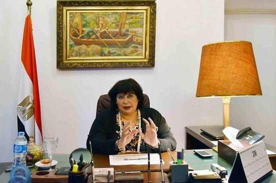 وزيرة الثقافة: مشروع بعث وإحياء الذاكرة المصرية للأطفال ينطلق من المنيا إلى جميع المحافظات