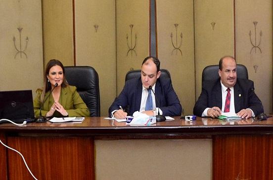 سحر نصر تعرض إستراتيجية الاستثمار ومشاركة القطاع الخاص فى التنمية أمام النواب