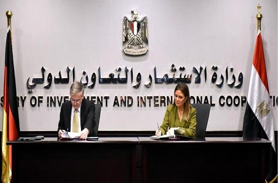 مصر والمانيا توقعان اتفاقيتين بقيمة 150.5 مليون يورو لدعم مشروعات الشباب والمرأة والزراعة