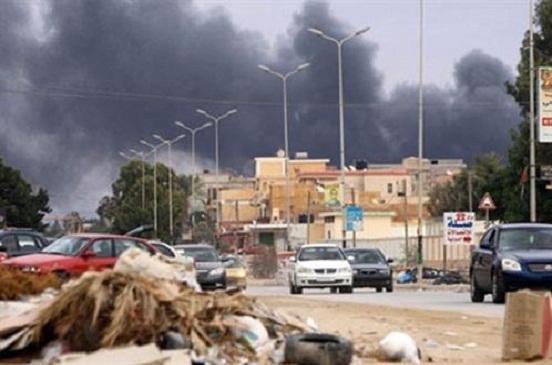 داعش يتبنى الهجوم على وزارة الخارجية الليبية
