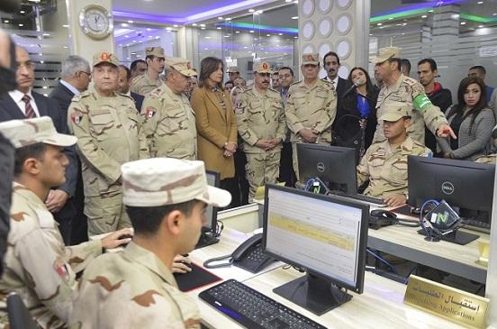 القوات المسلحة تفتتح أول مركز إلكتروني لتقديم خدمات التجنيد على الإنترنت