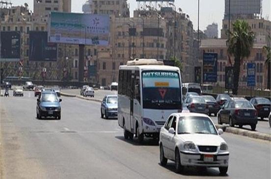 المرور: سيولة في الحركة المرورية على جميع المحاور والميادين الرئيسية