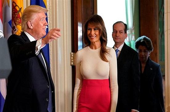 لأول مرة .. ترامب يكشف عن سبب خوفه على ميلانيا