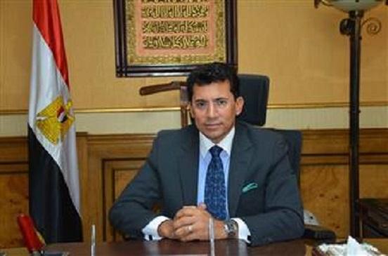 وزير الرياضة يهنئ الشعب المصري بالفوز باستضافة بطولة إفريقيا 2019