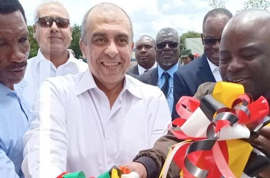 وزير الزراعة يفتتح أول صوبة مصرية لإنتاج الخضر في زامبيا |صور