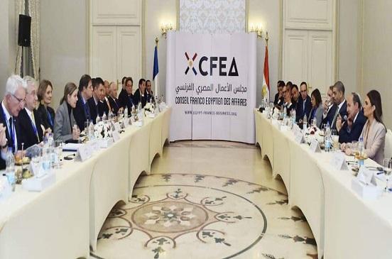 «نصار» و«بانييه» يترأسان اجتماع مجلس الأعمال المصري الفرنسي