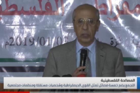 بالفيديو.. «درويش» مُعلقًا على انطلاق التجمع الديمقراطي: أطالب بإتاحة الفرصة للشباب الفلسطيني