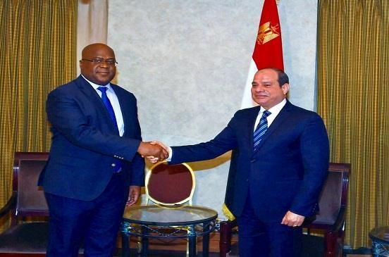 «السيسي» يؤكد لرئيس الكونغو الديمقراطية استمرار مصر لتقديم كافة أوجه الدعم السياسي والتنموي لبلاده
