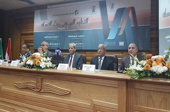 ننشر أبرز توصيات المؤتمر العلمي لكلية التربية النوعية جامعة القاهرة
