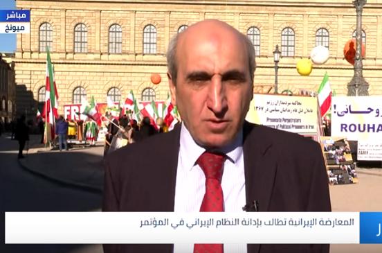 بالفيديو..  «شاهين قبادي»: تظاهر الإيرانيين في ميونخ رسالة بأن جواد ظريف لا يُمثل الشعب