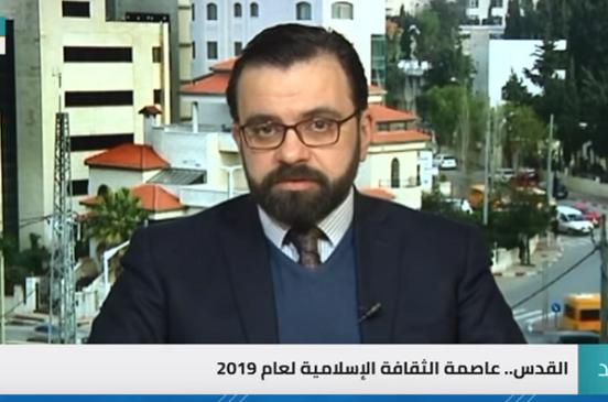 بالفيديو..  وزير الثقافة الفلسطيني: «لدينا إصرار على أن تكون كلمة القدس حاضرة في كل المنصات الدولية»