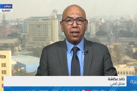 بالفيديو...    عكاشة: انجاز أمني جديد بمداهمة خليتان في شمال سيناء قبل تنفيذ هجمات