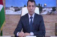 دحلان يرد على تصريح سفير واشنطن لدى إسرائيل عن إمكانية
