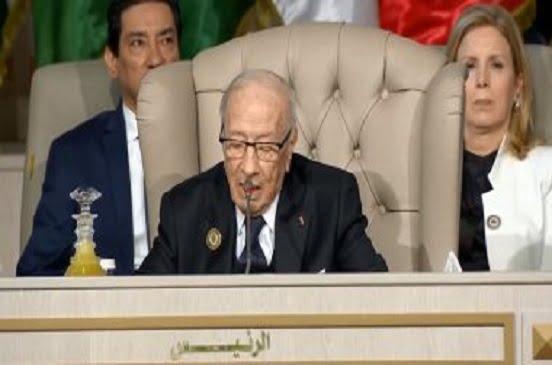 السبسى: مبادرة للحل السياسى فى ليبيا بالاشتراك مع مصر والجزائر