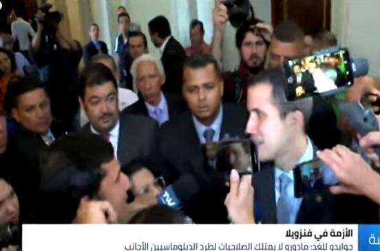 بالفيديو...     زعيم المعارضة الفنزويلية لـ الغد: مادورو لا يملك صلاحية طرد الدبلوماسيين