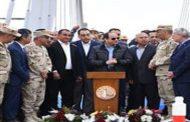 الرئيس السيسي يتفقد محور روض الفرج