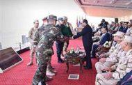 الرئيس السيسي يتفقد إجراءات الاصطفاف والتفتيش ورفع الكفاءة القتالية بقاعدة محمد نجيب العسكرية