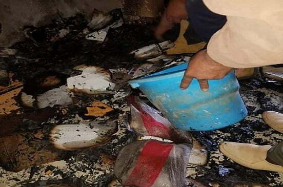 حريق بالإدارة الصحية بالقنايات فى الشرقية.. والنيابة تطلب التحريات
