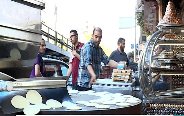 شاهد..ابتكارات جديدة بالكنافة في مصر خلال رمضان