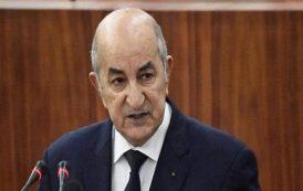 الرئيس الجزائري الجديد عبدالمجيد تبون يؤدي اليمين الدستورية