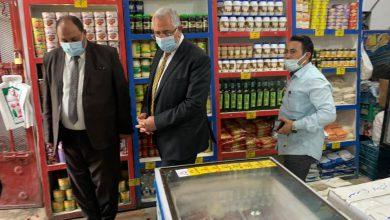 وزير الزراعة يقوم بجولة مفاجأة لمنافذ وزارة الزراعة بالدقي